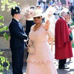 Oprah Winfrey en la boda del Príncipe Harry y Meghan Markle