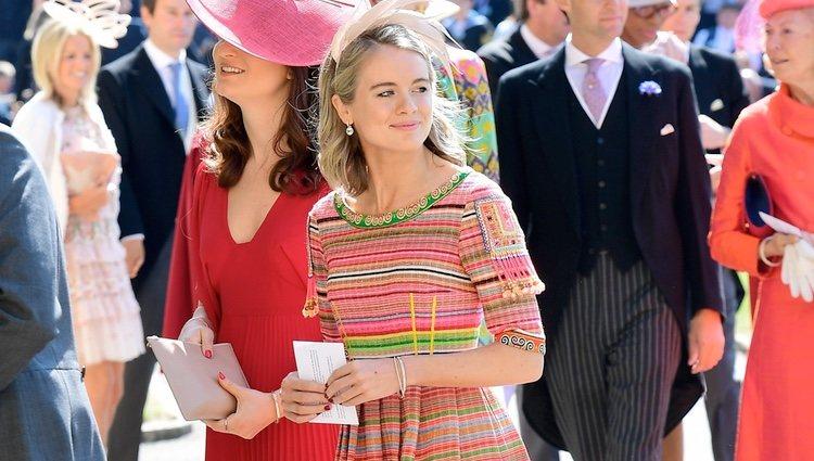 Cressida Bonas en la boda del Príncipe Harry y Meghan Markle