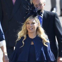 Chelsey Davy en la boda del Príncipe Harry y Meghan Markle