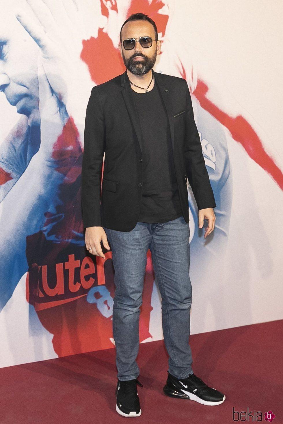 Risto Mejide en el homenaje a Andrés Iniesta