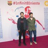 Estopa en el homenaje de despedida a Andrés Iniesta