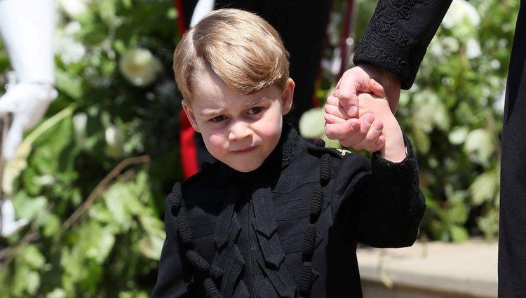 El Príncipe Jorge en la boda del Príncipe Harry y Meghan Markle
