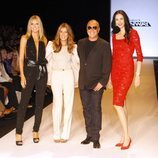 Los jueces de 'Project Runway' en la final de la novena temporada