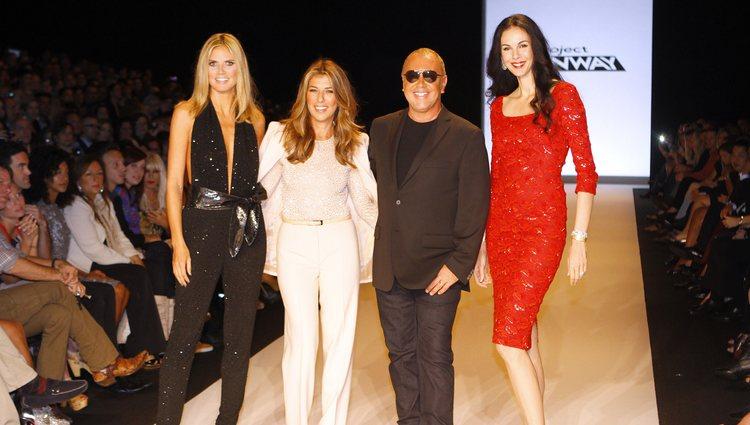Los jueces de 'Project Runway' en la final de la novena temporada