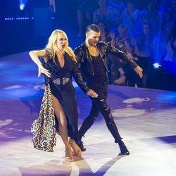 Topacio Fresh bailando durante la segunda gala de 'Bailando con las estrellas'