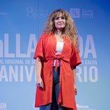 Erika Bleda en la celebración del quinto aniversario de 'La Llamada'