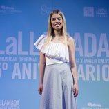 Nerea Rodríguez en la celebración del quinto aniversario de 'La Llamada'