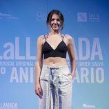 Andrea Guasch en la celebración del quinto aniversario de 'La Llamada'