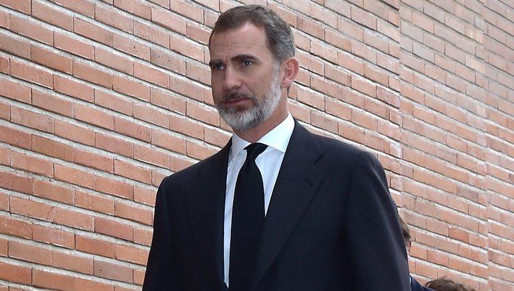 El Rey Felipe en el funeral de Alfonso Moreno de Borbón