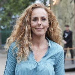 Rocío Carrasco acude a ver el musical 'Punto de Partida'