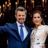 Federico de Dinamarca saluda por su 50 cumplaños con su mujer Mary de Dinamarca