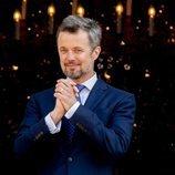 Federico de Dinamarca agradecido con el pueblo por su 50 cumpleaños