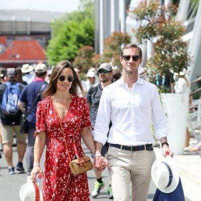 Pippa Middleton y James Matthews en el Roland Garros 2018