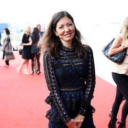 Alexandra Manley en el concierto por el 50 cumpleaños de Federico de Dinamarca