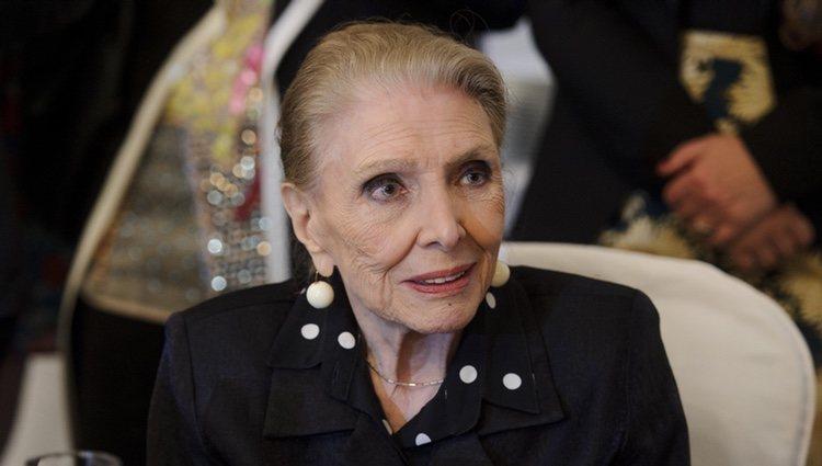 María Dolores Pradera durante la 18ª edición de los premios 'Club de las 25' 2014