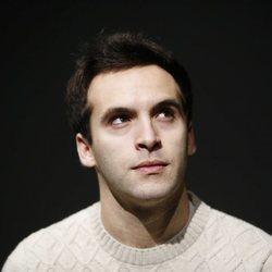 Ricardo Gómez en la presentación de la obra 'Mammón'