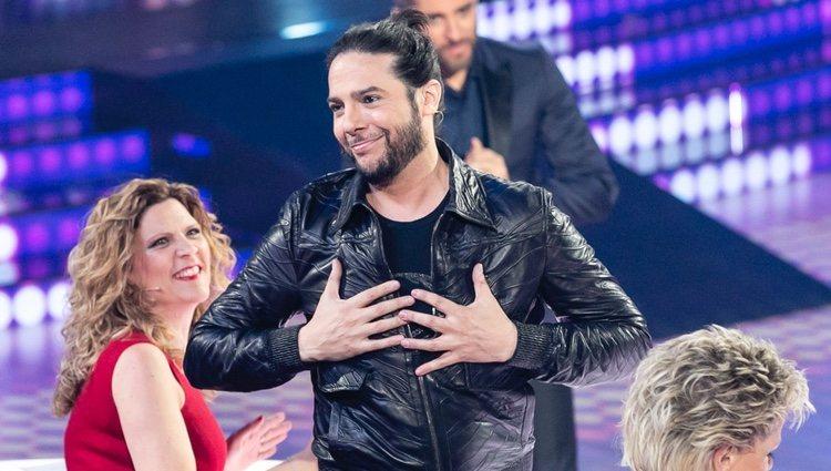 Joaquín Cortés en 'Bailando con las estrellas'