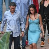 Cristiano Ronaldo de la mano de Georgina Rodríguez por Marbella