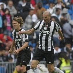 Zidane con la camiseta de la Juventus