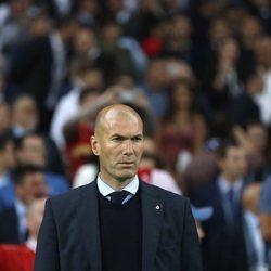 Zidane en la Champions League en Kiev