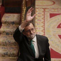 Mariano Rajoy se despide del Congreso ante el triunfo de la moción de censura