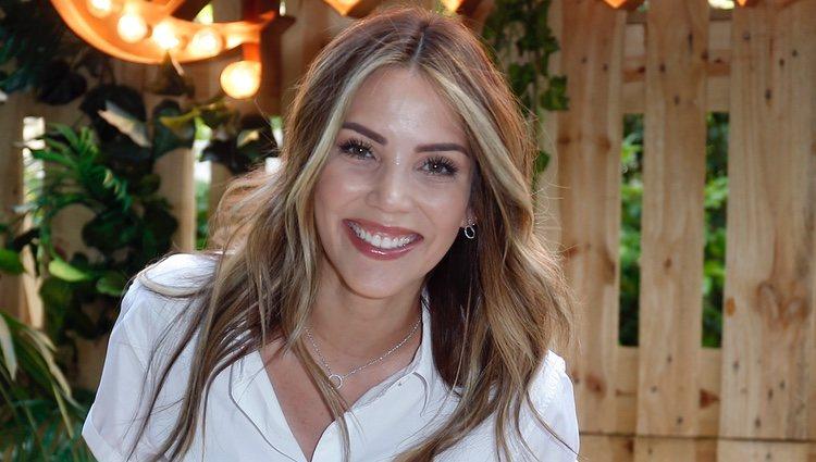 Rosanna Zanetti en la inauguración de Casa Corona