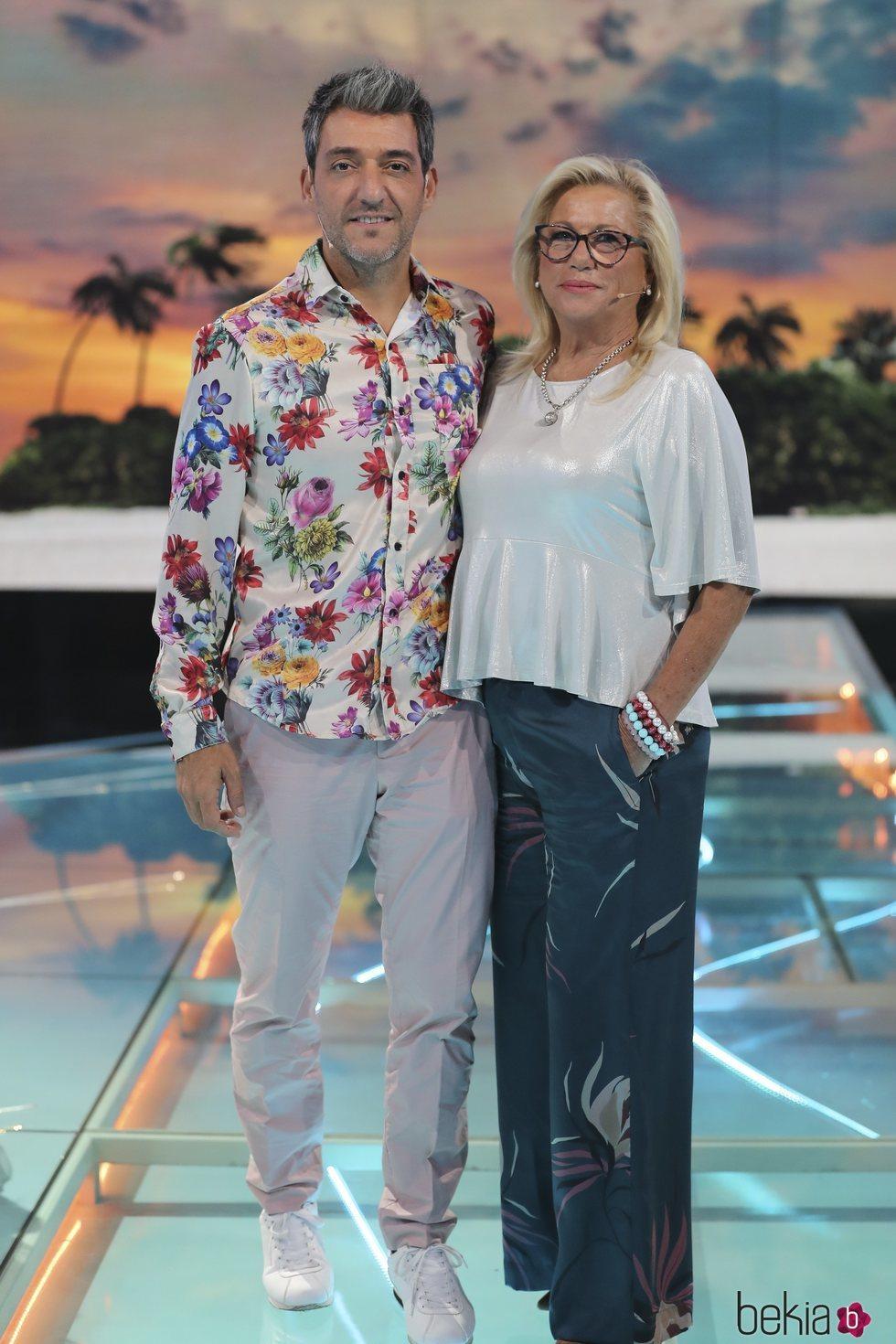 Mayte Zaldívar y Fernando Marcos en la gala 12 de 'Supervivientes 2018'