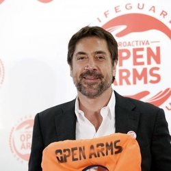 Javier Bardem en el evento Proactiva Open Arms
