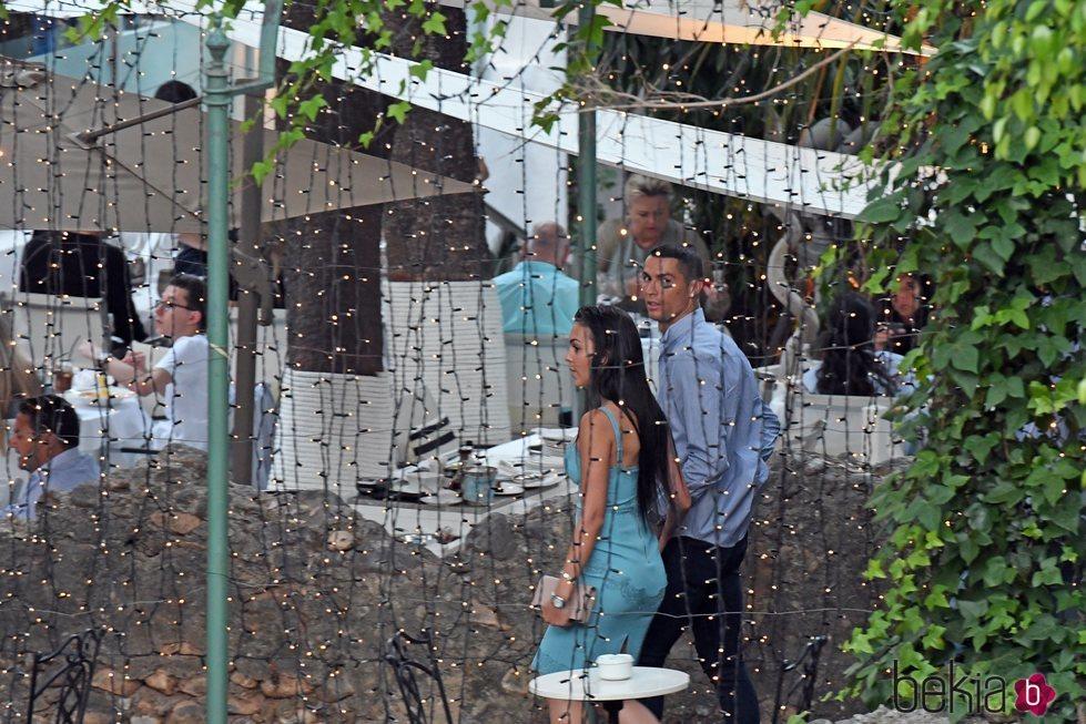 Cristiano Ronaldo y Georgina Rodríguez en Marbella