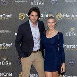 Patricia Montero y Álex Adrover en la inauguración del restaurante de 'MasterChef' en Madrid
