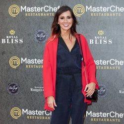 Marina San José en la inauguración del restaurante de 'MasterChef' en Madrid