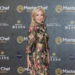 Carmen Lomana en la inauguración del restaurante de 'MasterChef' en Madrid