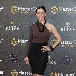 Raquel Sánchez Silva en la inauguración del restaurante de 'MasterChef' en Madrid