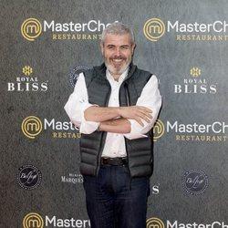 Lorenzo Caprile en la inauguración del restaurante de 'MasterChef' en Madrid