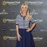 Cayetana Guillén Cuervo en la inauguración del restaurante de 'MasterChef' en Madrid