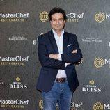 Pepe Rodríguez en la inauguración del restaurante de 'MasterChef' en Madrid