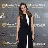 Eva González en la inauguración del restaurante de 'MasterChef' en Madrid