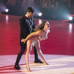 Yana Olina y David Bustamante dándolo todo en 'Bailando con las estrellas' con un baile muy sensual