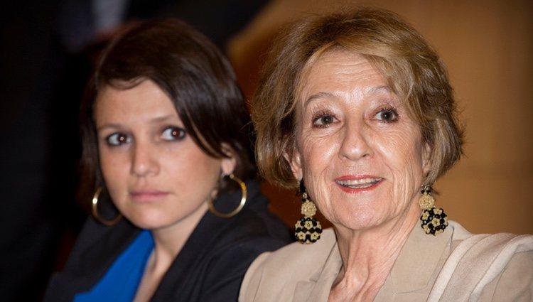 Inés Zorreguieta y María del Carmen Cerruti