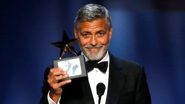 George Clooney con su Premio AFI 2018