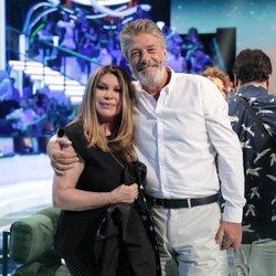 Francisco y su mujer Paca en la gala 13 de 'Supervivientes 2018'