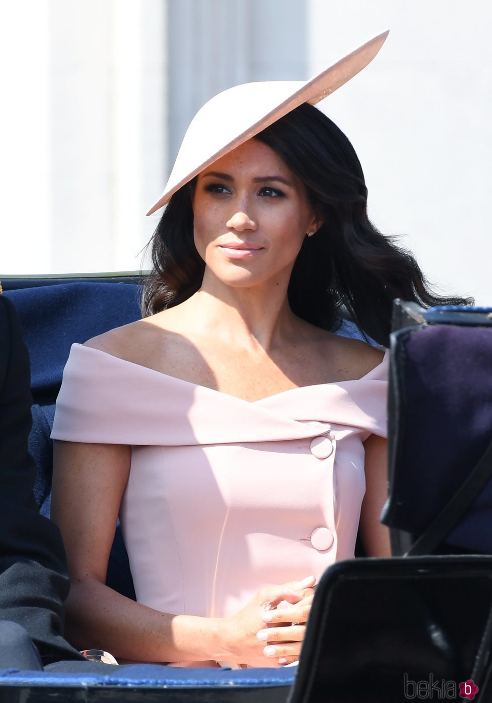 Meghan Markle en el Trooping The Colour 2018