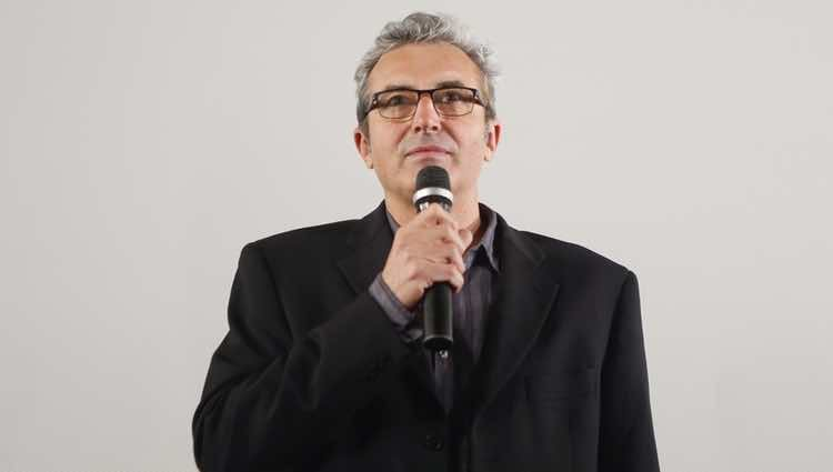 Mariano Barroso durante la presentación del Goya de Honor 2018