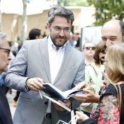 Màxim Huerta en la Feria del Libro de Madrid de 2018
