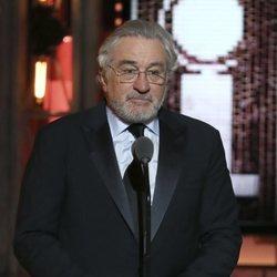 Robert De Niro durante la entrega de los Premios Tony 2018
