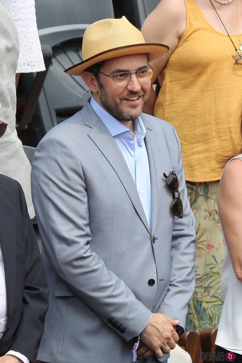 Màxim Huerta ejerce de Ministro de Cultura y Deportes acudiendo al Roland Garros 2018