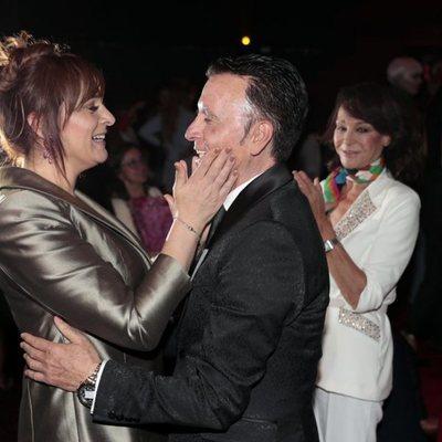 José Ortega Cano con Ana María Aldón en su graduación