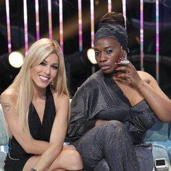 Oriana Marzoli y Carolina Sobe en una de las galas de 'Supervivientes 2018'
