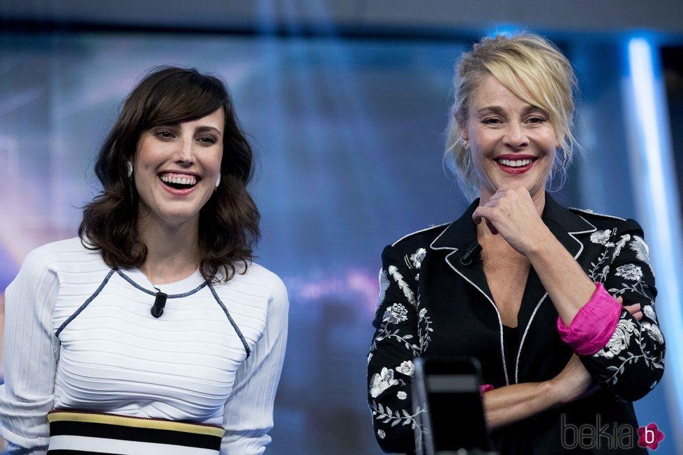 Belén Rueda y Natalia de Molina en 'El Hormiguero'