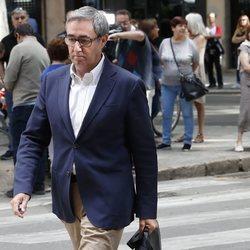 Diego Torres llega a la Audiencia de Palma para recibir el mandamiento de prisión